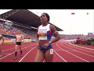 Tiffany Porter 100m Hurdles Semifinal 3 Women's HD European Athletics Championships Amsterdam 2016