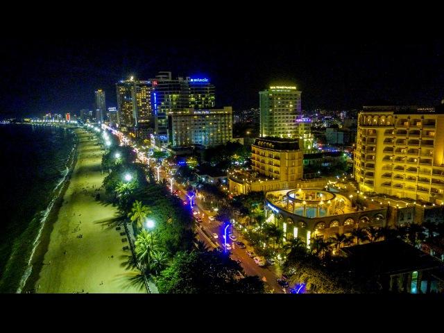 Ơi Nha Trang Thành phố mênh m ng Bừng sáng phương Đ ng Đàn chim yến về DJI Flycam Phantom 3 4K