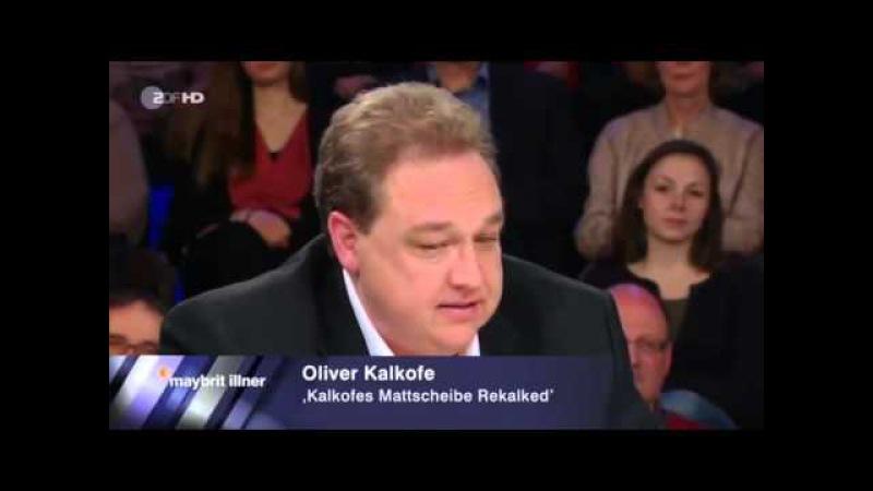 Oliver Kalkofe klartext zu Merkel Erdogan und Böhmermanns Schmähgedicht