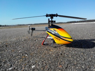 Обзор HiSKY HFP80, 4-х канальный вертолет