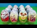 Собираем коллекцию 3! Шоколадные сюрпризы Барбоскины. Игрушки. Мультик. Unboxing kinder