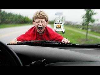 Ultimate Close Call Compilation 2016 || Abnormal parents and their children