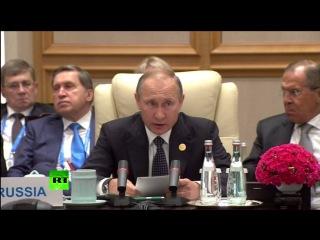 На фоне обостряющихся противоречий между странами и неравномерности их развития в мире растет конфликтный потенциал, заявил Пут. на неформальной встрече лидеров БРИКС на полях саммита G20