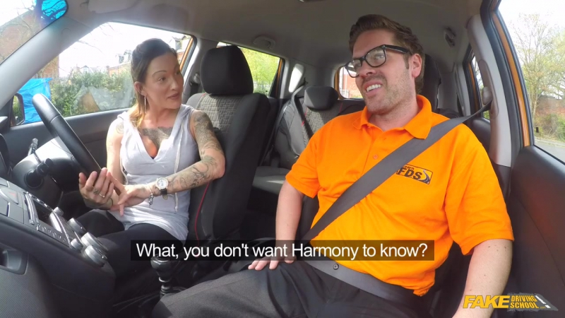 Fake Driving School Chantelle Fox Advanced Lesson in Messy Creampie New Porn