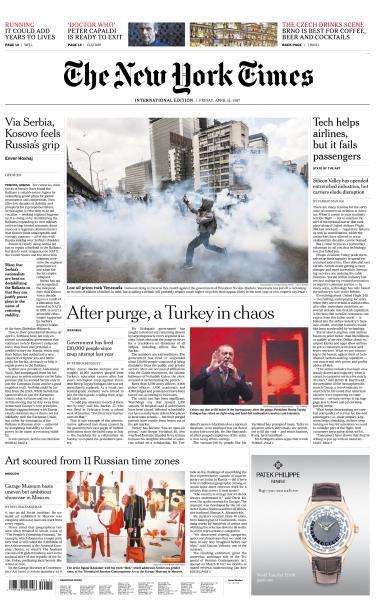 International New York Times 14 April 2017 FreeMags