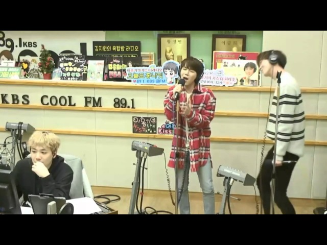 170116 Pentagon Jinho and Shinwon performing FT Island's Lovesick