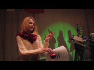 Новогодний Mannequin Challenge от студентов ГГУ! Манекен Челендж - падающая ёлка)