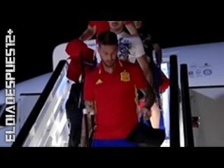 Sergio Ramos vuelve lesionado con la Selección Española ◉ Review ◉ 2016