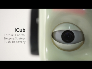 Icub torque-control stepping strategy push recovery iit