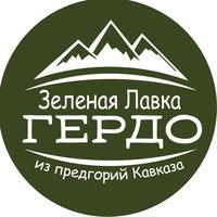 Логотип Зеленая лавка Гердо