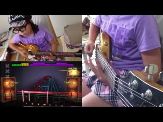 ROCKSMITH Audrey (10 yrs old) Plays Guitar - . - System of a Down - 98% ロックスミス2014