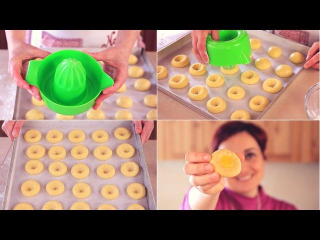 BISCOTTI ALL'ARANCIA Ricetta Facile - Orange Cookies Easy Recipe