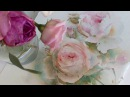 Roses in watercolor: work in progress