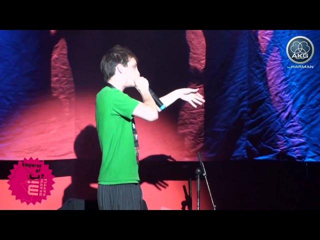 Beatboxing doeme vs. defa - Semi final - Emperor of Mic 2010