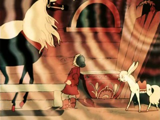 The little humpback horse 1948 Конек Горбунок english subs Russian animation