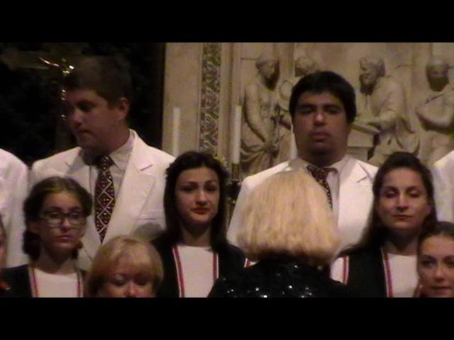 Coro giovanile Svitych dell'Universita Statale intitolata N Gogol