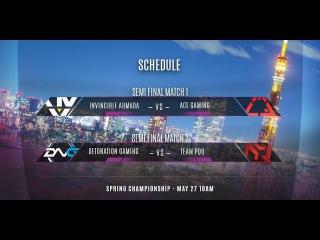 Vainglory 8 Tokyo: Detonation Gaming VS Team pQq И3