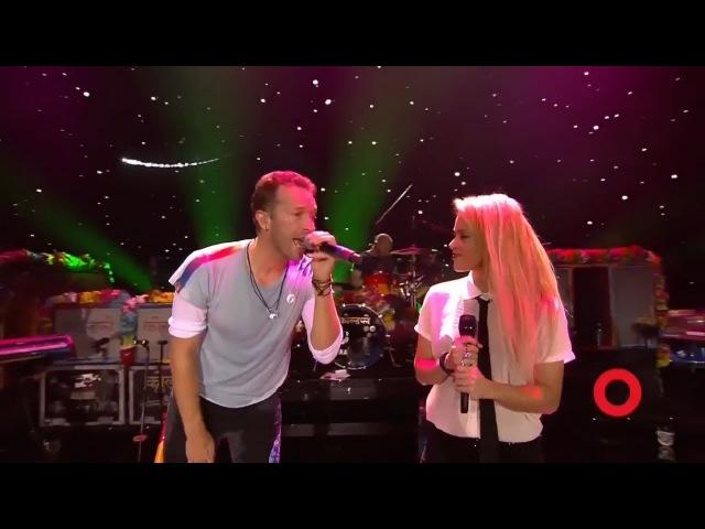 Coldplay Shakira A Sky Full of Stars Live at Global Citizen Festival Hamburg