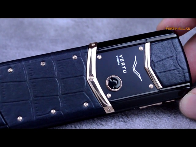 копия Vertu Signature S Design DCL black gold