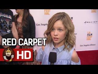 ANNABELLE: CREATION (2017) - LA Film Festival Red Carpet Interviews   Dominique Digital