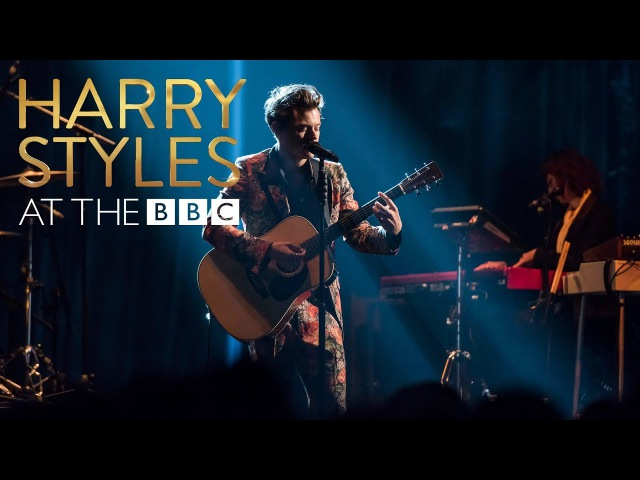 Harry Styles Girl Crush At The BBC