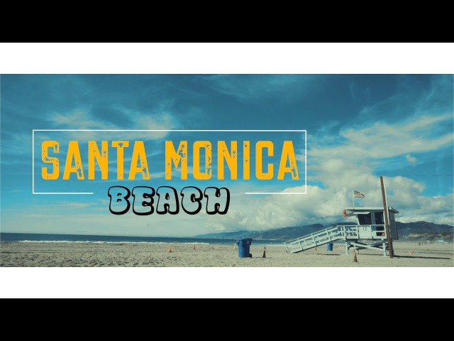 Именно такая ЗИМА в Лос Анджелесе Santa Monica Beach KinoMama КиноМама