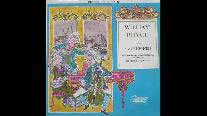 William Boyce 1711 1779 Symphony I in B Flat Major Barbara Tillmann
