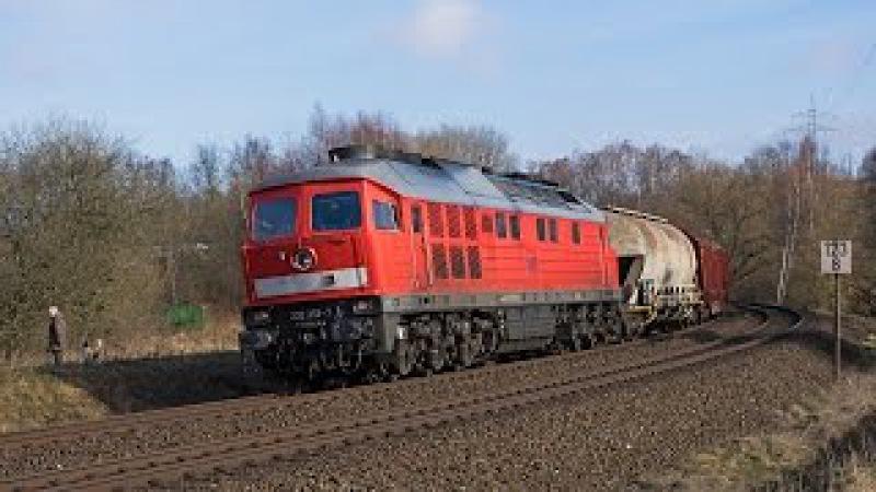 Frankenwaldbahn Umleiter und viel Güterverkehr in und um Hof Saale u a HVLE SETG SWT