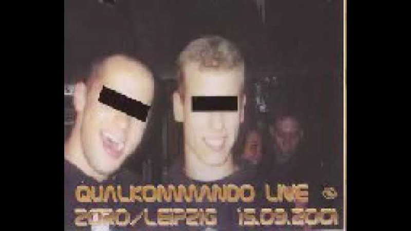Qualkommando Live At Violent Enforcement Party 15/09/2001