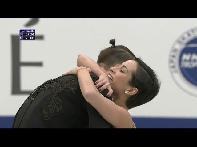 Столбова / Климов. NHK Trophy 2017, ПП
