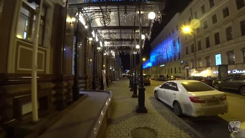 17 Live Исаакиевская площадь прогулка по Питеру Зима 2020 в Санкт Петербурге