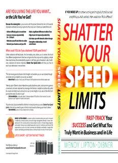 ShatterYourSpeedLimits Wendy-Lipton-Dibner