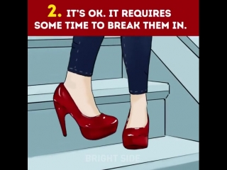 5 Stages of wearing high heels