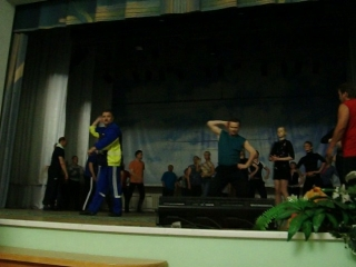 Хлопушка 45л.танец Махонька фрагмент репетиции сборная всех времёт анс танца Шахтёрский огонёк