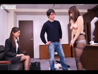 Iroha Natsume. Drama. Прости милый, я легла под директоров, спасая коллегу от домогательства. #metoo