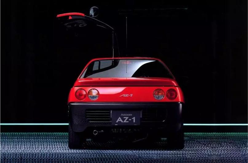 700 килограммов ярости редкого спорткара Autozam AZ-1, который и Suzuki, и Mazda., изображение №13