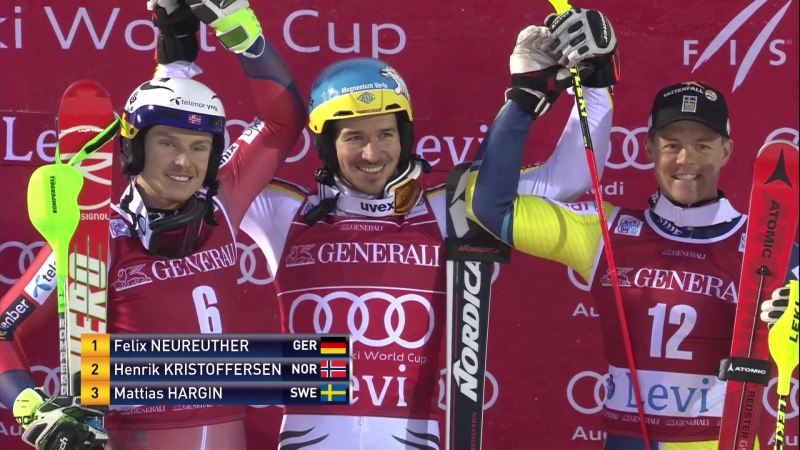 Highlights ¦ Neureuther tops the field in Slalom opener ¦ FIS Alpine