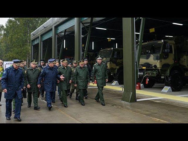 Шойгу проверил объекты ПРО и ПВО под Москвой