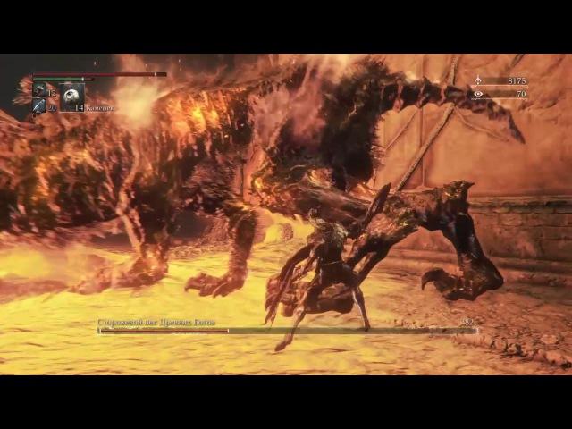 Bloodborne Прохождение босса из чаш 4 Сторожевой пес Древних Богов Watch Dog of the Old Lords