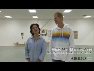 Aikido Self Defense For Women - Penny Bernath Video #7: - Defense Against Hair Grab from Behind