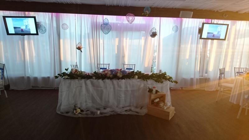 Декорирование свадьбы Константина и Арины.