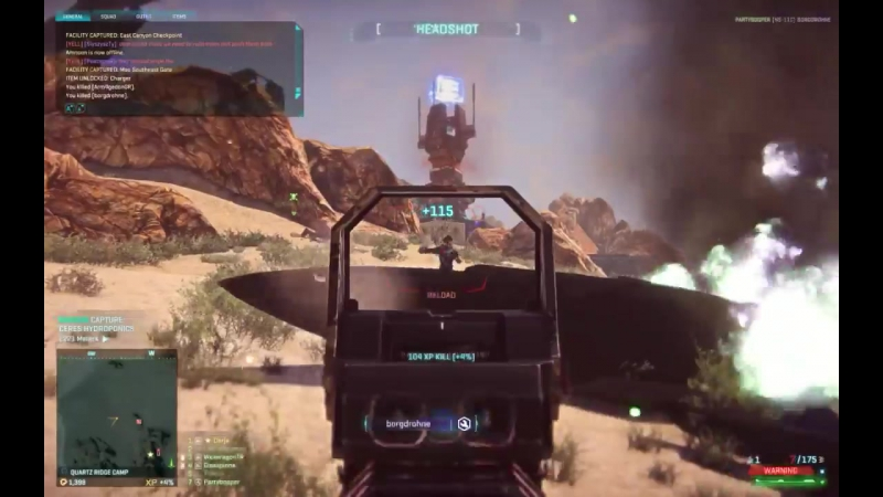 Planetside 2 RedMist outfit event