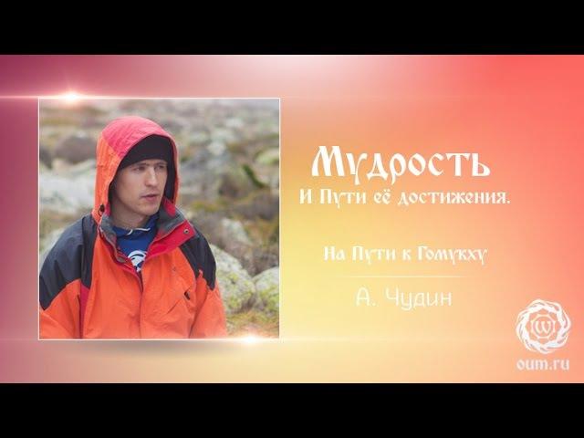 Мудрость и Пути ее достижения Антон Чудин