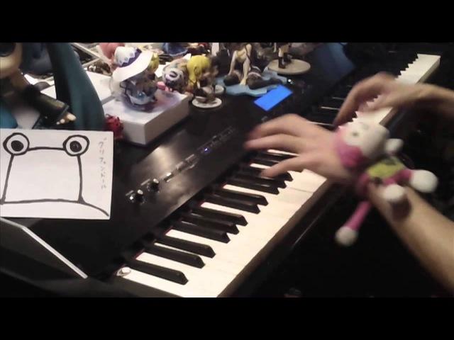 【ピアノ】 東方の曲をちょっとテンション高めにメドレーにしてみた