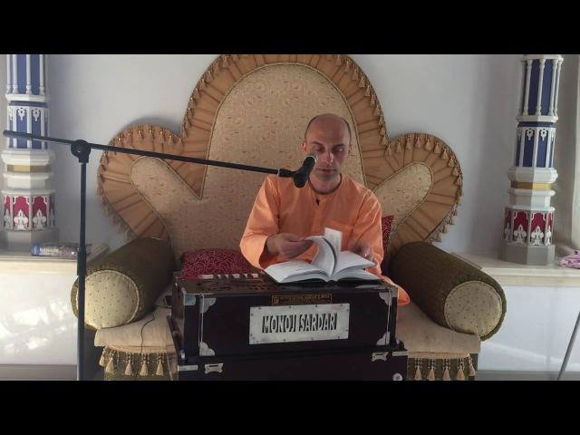 Решимость и преданность Гуру основа успеха в садхана бхакти 15 июня 2017 Ватсала д...
