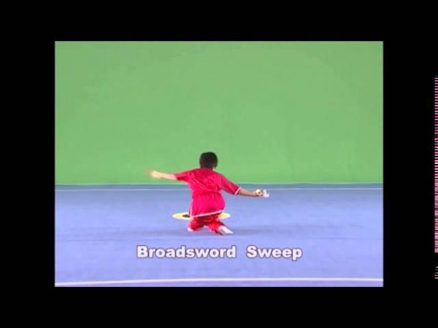 Wushu Elementary Routine (Part 2) Basic movements of Daoshu