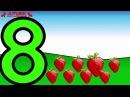 Nauka Cyferek dla Dzieci po Polsku Owoce i Warzywa 1 10