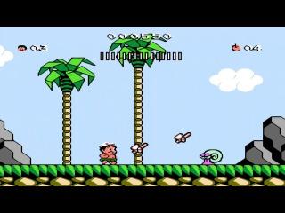 Hudson Adventure Island 3 NES - Прохождение (Остров приключений 3 Dendy, Денди - Walkthrough)