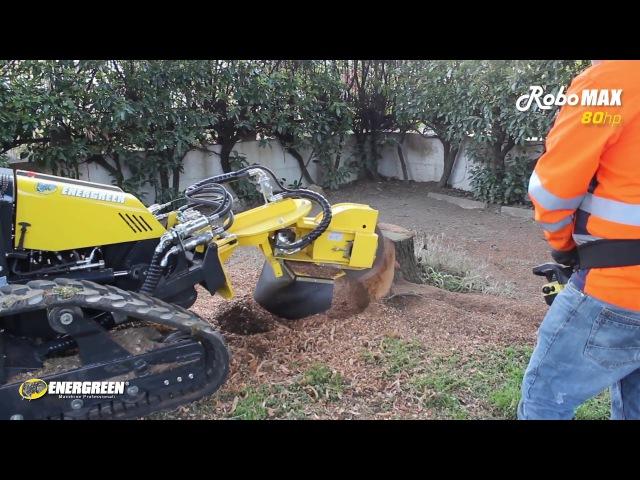 RoboMAX Fresa Ceppi Stump Grinder Energreen Professional Machines