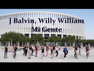 Backstage/International Reggaeton Flashmob/J Balvin,Willy WilliamMi Gente/Krasnodar 2017